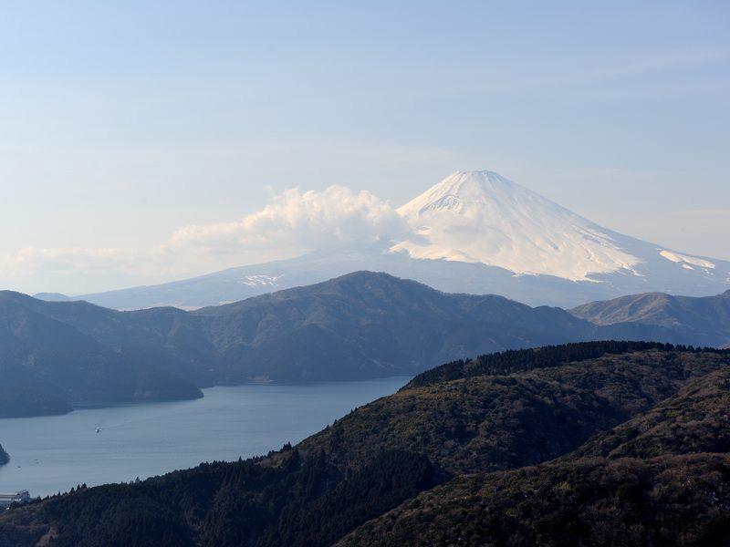 箱根と富士山の旅