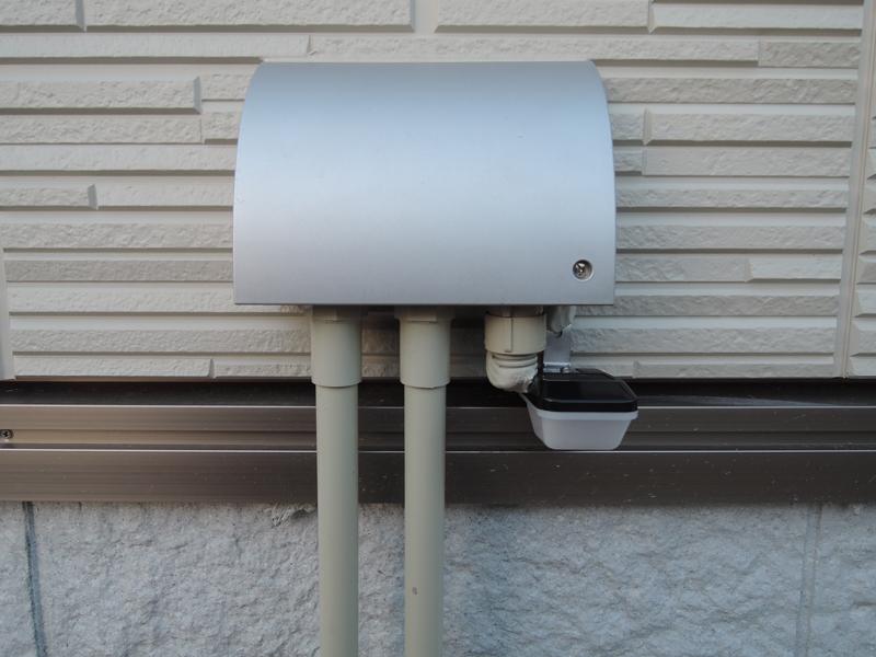 玄関門灯の自動点滅DIY