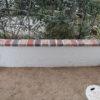 壁面塗装延長工事